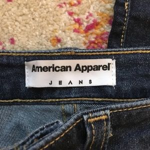 American Apparel Jeans - American Apparel High Waisted Pencil Jeans